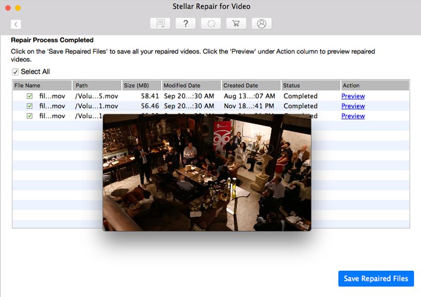 stellar repair for video mac Preview MOV