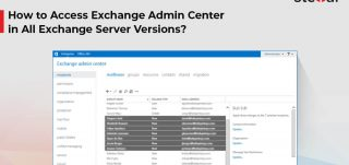 How to Access Exchange Admin Center in all Exchange Server Versions