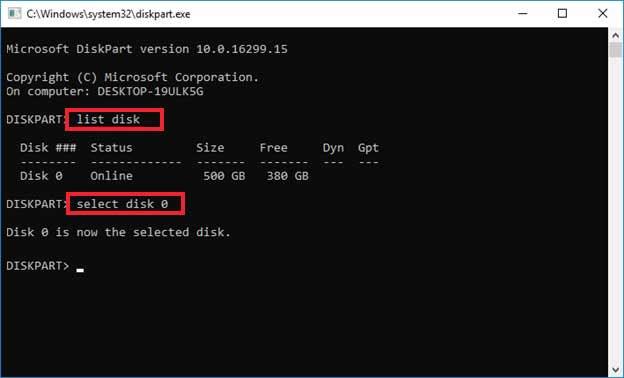 List disk in C Part