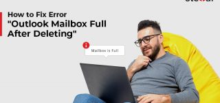 """How to Fix the Error - """"Outlook Mailbox Full After Deleting"""""""