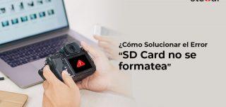 SP Como Solucionar el Error SD Card no se formatea