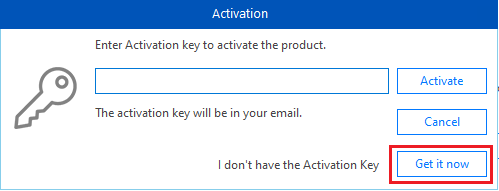 getting the activation key of Stellar Repair for QuickBooks® Software
