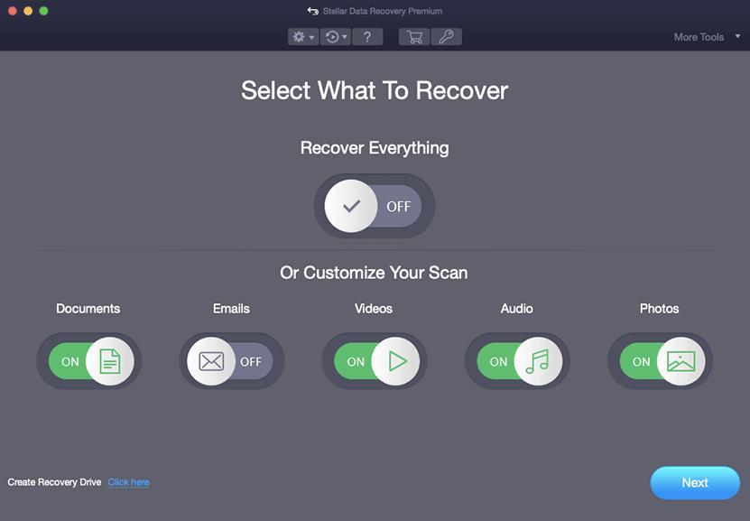 Srellar Data Recovery Premium for Mac