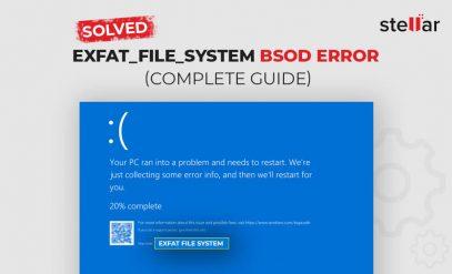 EXFAT FILE SYSTEM Error