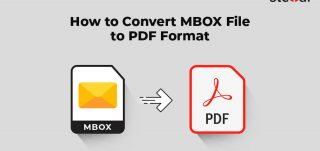 How to convert MBOX file to PDF format