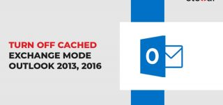 turn off cached exchange mode outlook 2013 2016