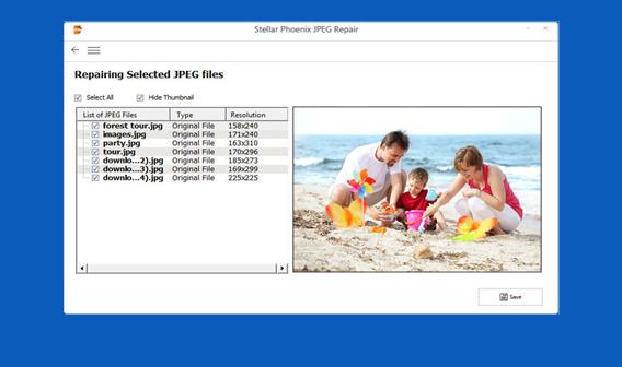 Riparazione File JPEG