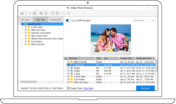 Photo Recovery Software to Recover Lost or Deleted Photos