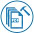 Stellt PDF-Dateien mit Objekten und Formatierungen wieder her icon