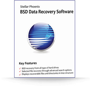 Stellar Phoenix BSD Data Recovery
