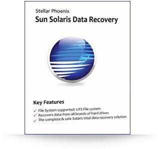 Stellar Phoenix Sun Solaris Data Recovery