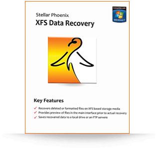 Stellar Phoenix XFS Data Recovery