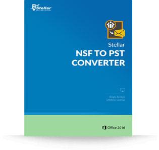 Stellar Phoenix NSF to PST Converter