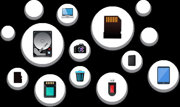 Récupération gratuite de tous les formats de fichiers des systèmes Windows