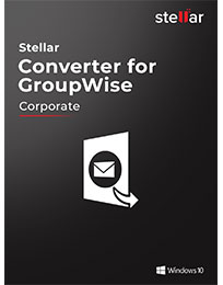 Stellar GroupWise to PST Converter icon