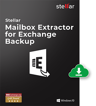 Click here for more info about Stellar Mailbox Extractor for Exchange Backup