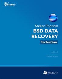 Stellar Phoenix BSD Data Recovery Box