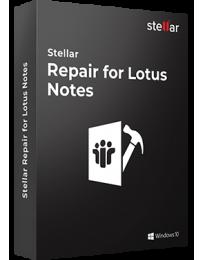 Stellar Repair for Lotus Notes
