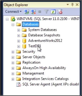 Restore Database in SQL Server 2014 from  Bak File Step By Step