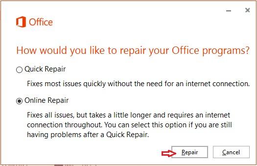 Repair Option