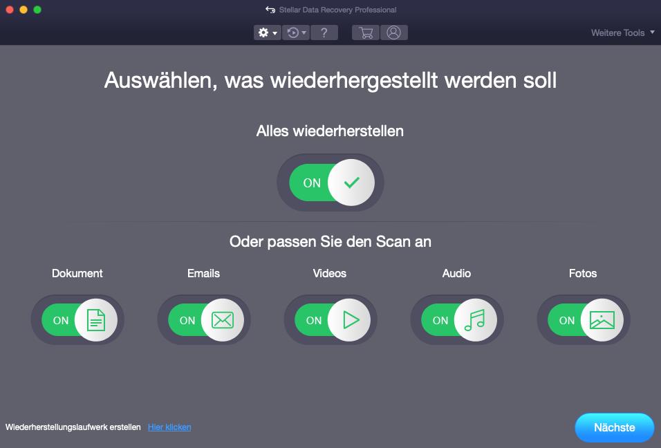 Mac-Datenwiederherstellungssoftware
