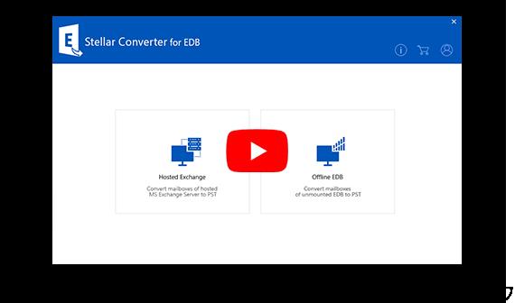 EDB to PST Converter to Convert EDB Files to PST