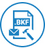 Repairs Exchange BKF & VHDX Files icon