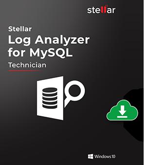 Stellar Log Analyzer for MySQL Box