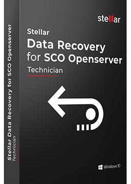 Stellar Data Recovery for SCO OpenServer
