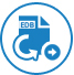 Exports offline EDB to Live Exchange / Office 365 icon