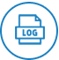 Generate Log Reports icon