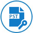 Merge Password Protected PST Files  icon