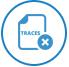 Removes App Traces icon