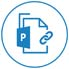 Support for PowerPoint Macro-enabled (PPTM) file icon