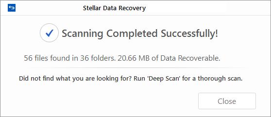 Stellar Data Recovery – Professional | Stellar Online Help