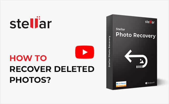 Stellar Data Recovery Software Windows Pro recover restore lost deleted files