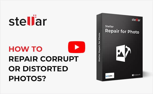 Foto Reparatur Software Stellar Repair For Photo