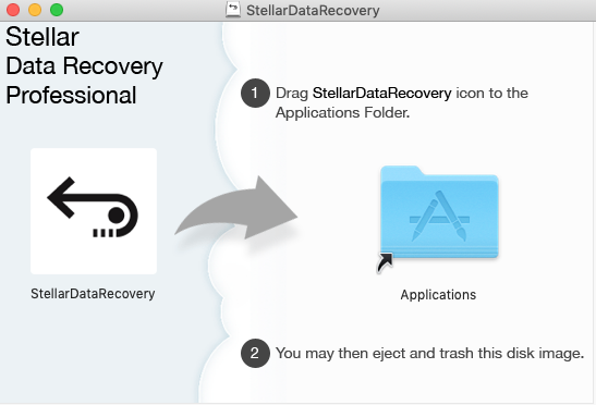 Install Mac Data Recovery in Application
