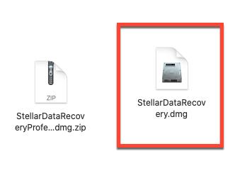 Double click dmg File