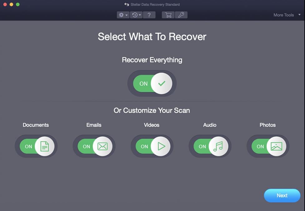 Mac Data Recovery Standard