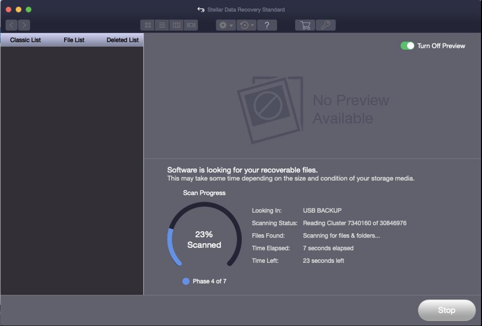 Stellar Data Recovery Standard for Mac