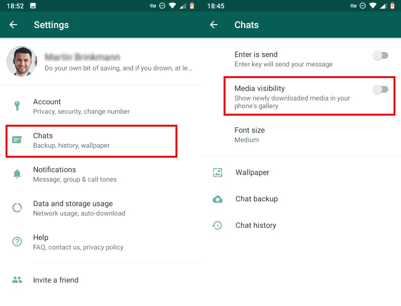 turn-off-media-visibility-to-block-whatsapp-from-displaying-data-in-photo-roll-in-Android