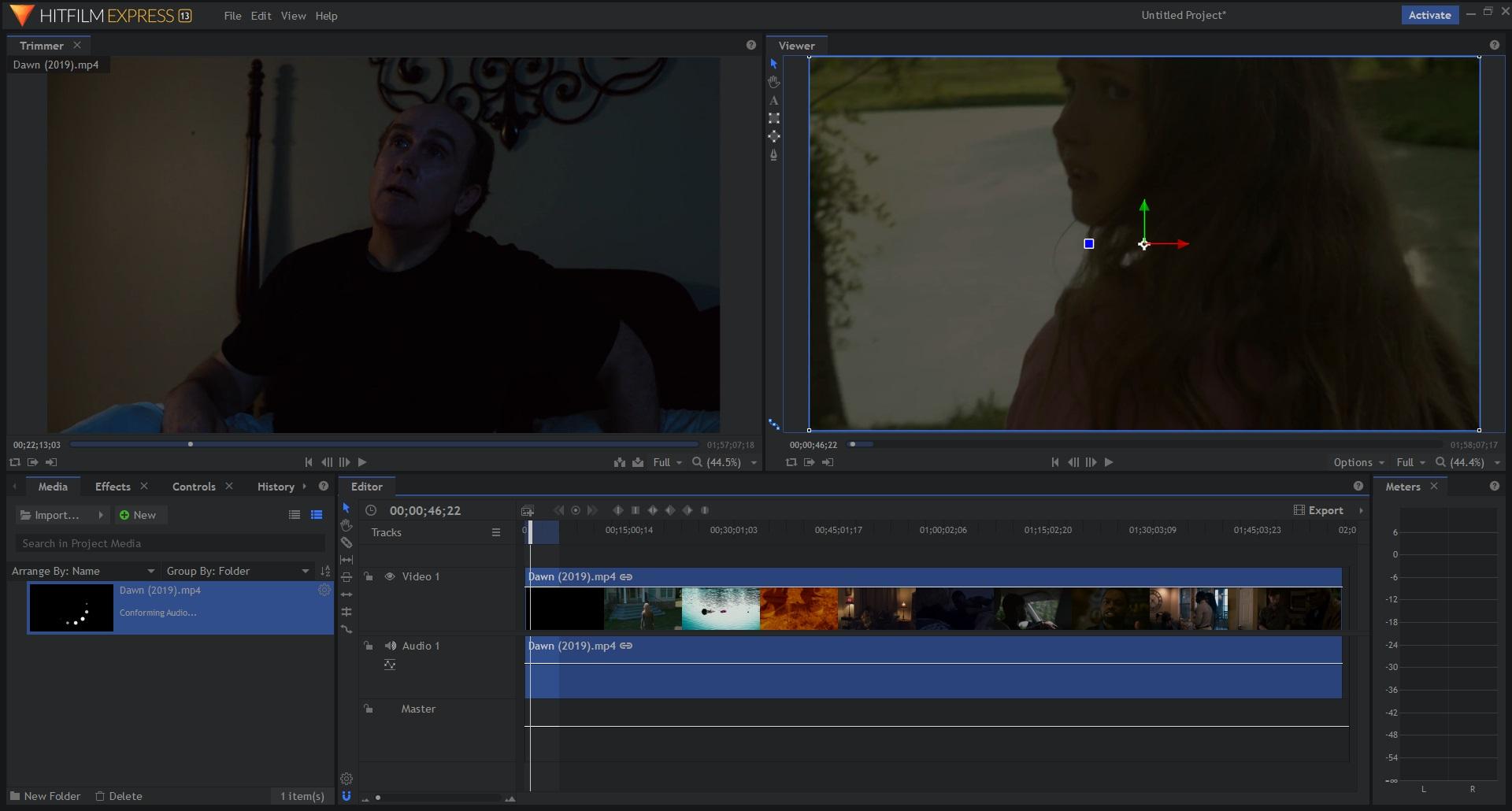 HitFilm best video editing software