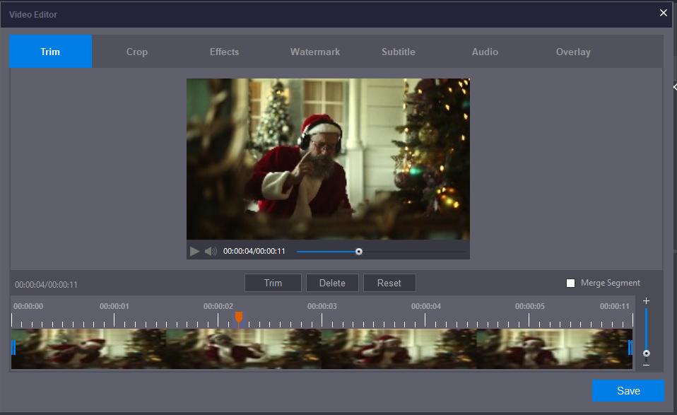 Best Video Editor in Stellar Converter for Audio Video