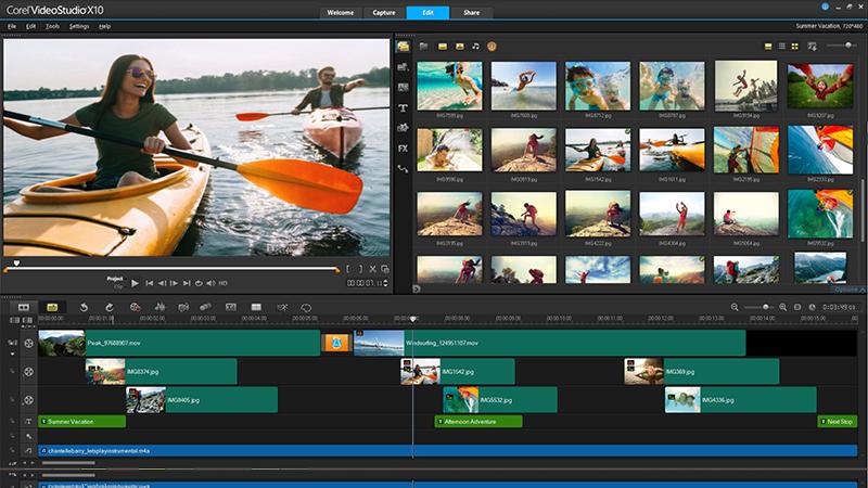 VideoStudio Ultimate video editing software