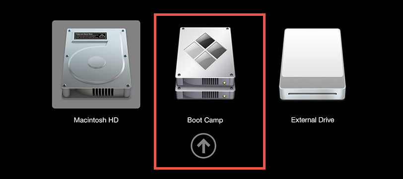 Boot into Windows on Mac