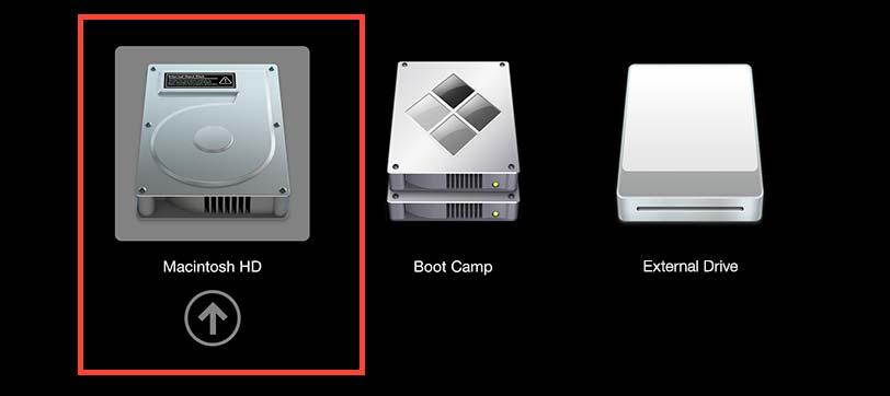 macOS Boot Option