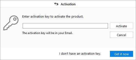 Activation Window