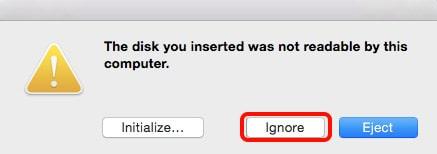 initialize mac hard drive