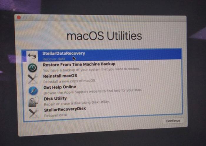 stellar data recovery mac boot